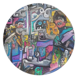 Plato Banda de rock abstracta