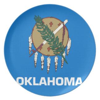 Plato Bandera de Oklahoma