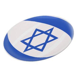 Plato Bandera del israelí de Israel