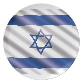 Plato Bandera internacional Israel