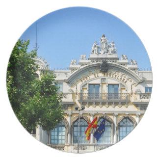 Plato Barcelona, España