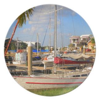 Plato Barcos en el puerto deportivo, Darwin, Australia