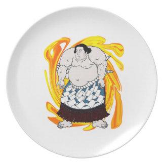 Plato Barrendero del sumo
