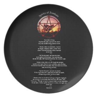 Plato Bebidas espirituosas de Samhain