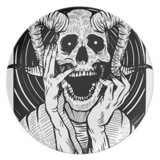 Plato cara del diablo