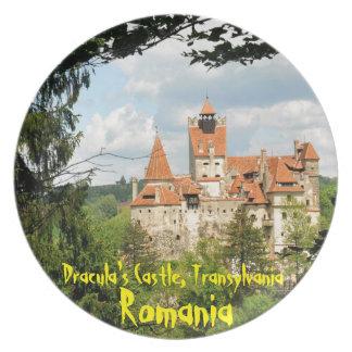 Plato Castillo de Drácula en Transilvania, Rumania