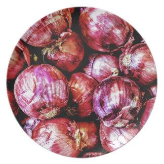 Plato Cebolla roja