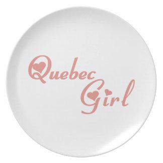 Plato Chica de Quebec