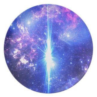 Plato Cielos iridiscentes