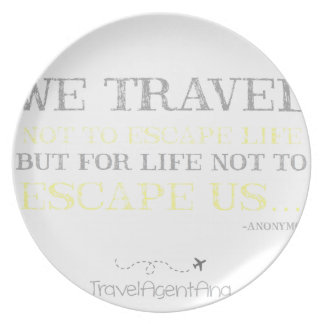 Plato Cita del viaje