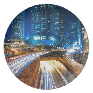 Plato Ciudad de Hong Kong