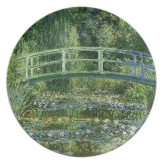 Plato Claude Monet - puente japonés