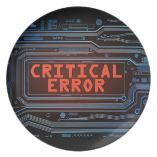 Plato Concepto del error crítico