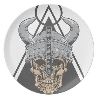 Plato Cráneo de Viking