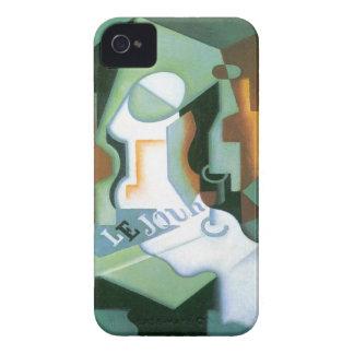 Plato de Juan Gris, cubismo de la botella y de Funda Para iPhone 4