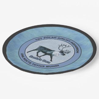 Plato De Papel 1ras escuadrillas polares del puente aéreo de