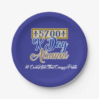 Plato De Papel 5700 placas de papel del día de K