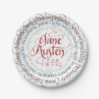 Plato De Papel Adaptaciones del drama de período de Jane Austen