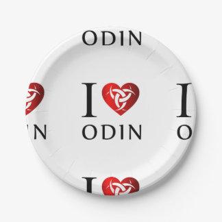Plato De Papel Amo Odin