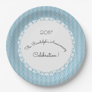Plato De Papel Anniversary-Celebration_Diamond-Threads_Blue_Lace