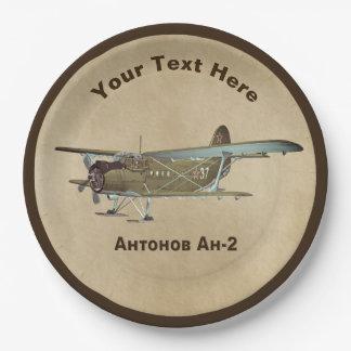 Plato De Papel Antonov An-2