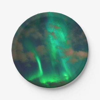 Plato De Papel Aurora boreal, aurora Borealis