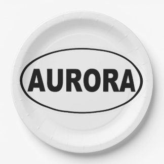 Plato De Papel Aurora Colorado
