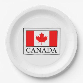 Plato De Papel Canadá