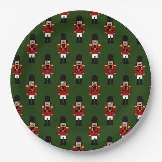 Plato De Papel Cascanueces - placa de papel