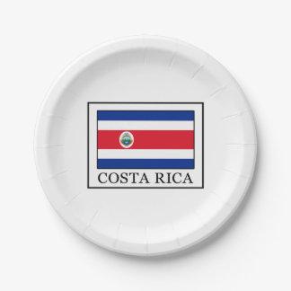 Plato De Papel Costa Rica