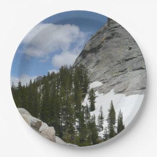 Plato De Papel El granito Nevado cubre con una cúpula el parque