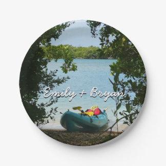 Plato De Papel El Kayaking en las Islas Vírgenes de St Thomas los