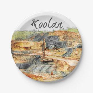 Plato De Papel En el hoyo - Koolan