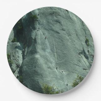 Plato De Papel Escaladores de roca en el EL Capitan