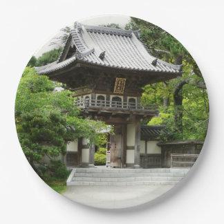 Plato De Papel Jardín de té japonés en San Francisco