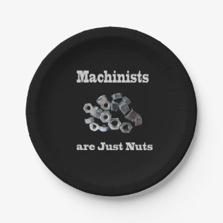 Plato De Papel Los maquinistas son apenas chistosos Nuts