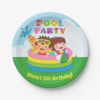 Plato De Papel Mini placas de papel de la fiesta de cumpleaños de