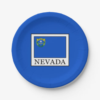 Plato De Papel Nevada