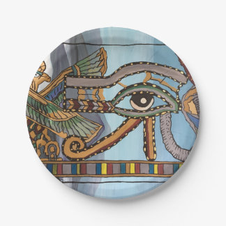 Plato De Papel Ojo de las placas de papel de Horus