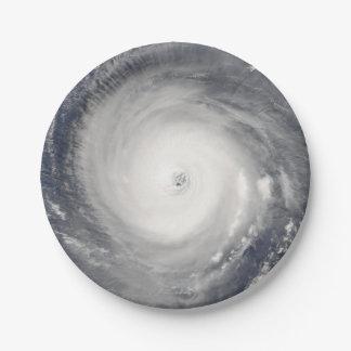 Plato De Papel Ojo del huracán
