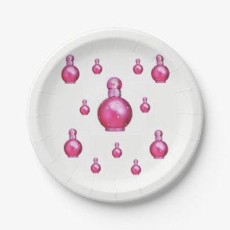 Plato De Papel Perfume de las placas de papel