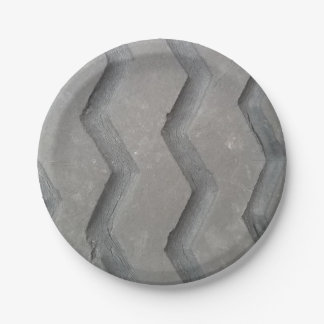 Plato De Papel Pisada del neumático