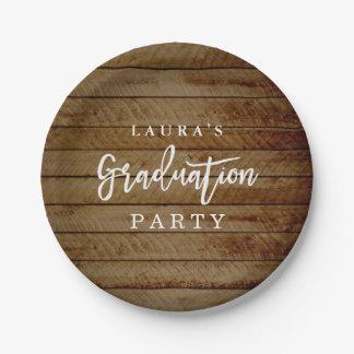 Plato De Papel Placa de papel de la fiesta de graduación de