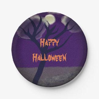 Plato De Papel Placas de papel de Halloween