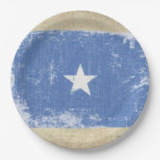 Plato De Papel Placas de papel de la bandera de Somalia