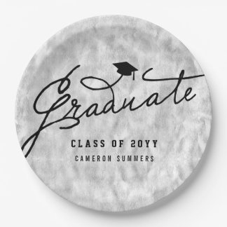 Plato De Papel Placas de papel de la fiesta de graduación del