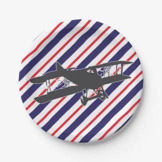 Plato De Papel Placas de papel de la marina de guerra y del