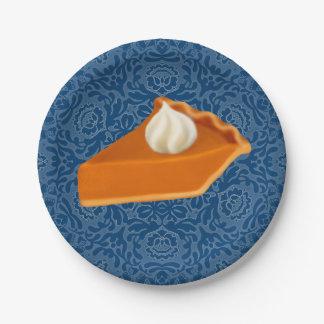 Plato De Papel Placas de papel de la rebanada del pastel de