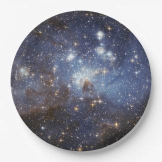 Plato De Papel Placas de papel del espacio - galaxia