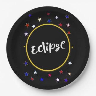Plato De Papel Placas de papel del fiesta del eclipse